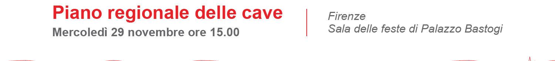 Piano Regionale delle Cave: è il tempo del confronto