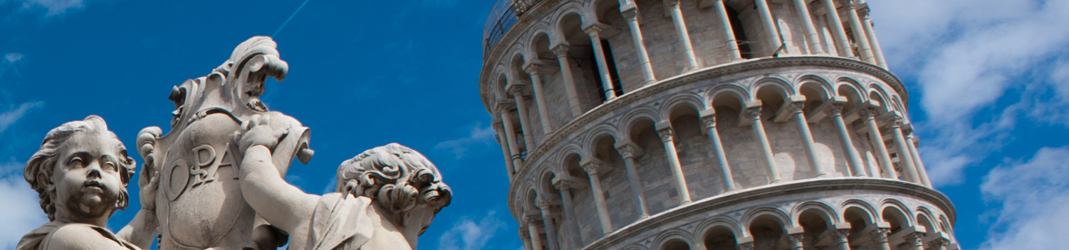 Putti_Fountain_Pisa_Cathedral_Duomo_di_Pisa_forefront_The_Leaning_Tower_of_Pisa_background_Piazza_dei_Miracoli_-Square_of_Miracles-._Pisa_Tuscany_Central_Italy