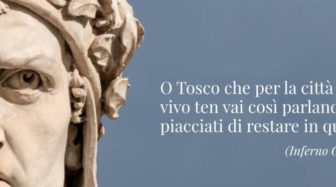 Dante o Tosco, la casa online del Sommo Poeta