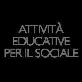 Attività educative per il sociale